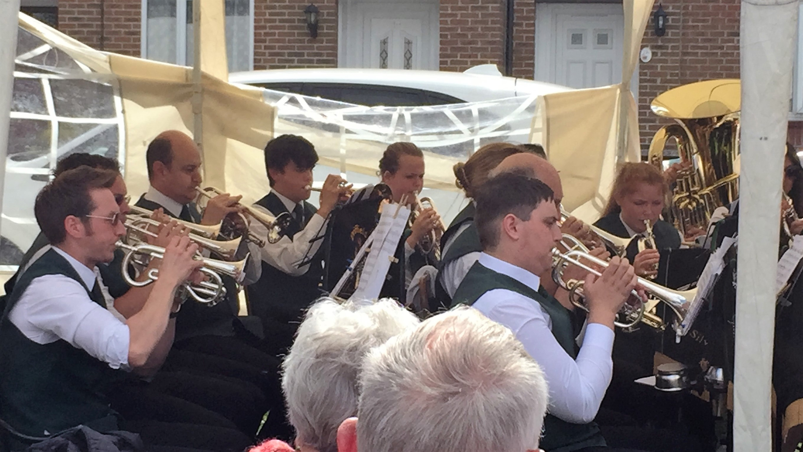 Cornet Section Riverhead Gala Driffield July 2017
