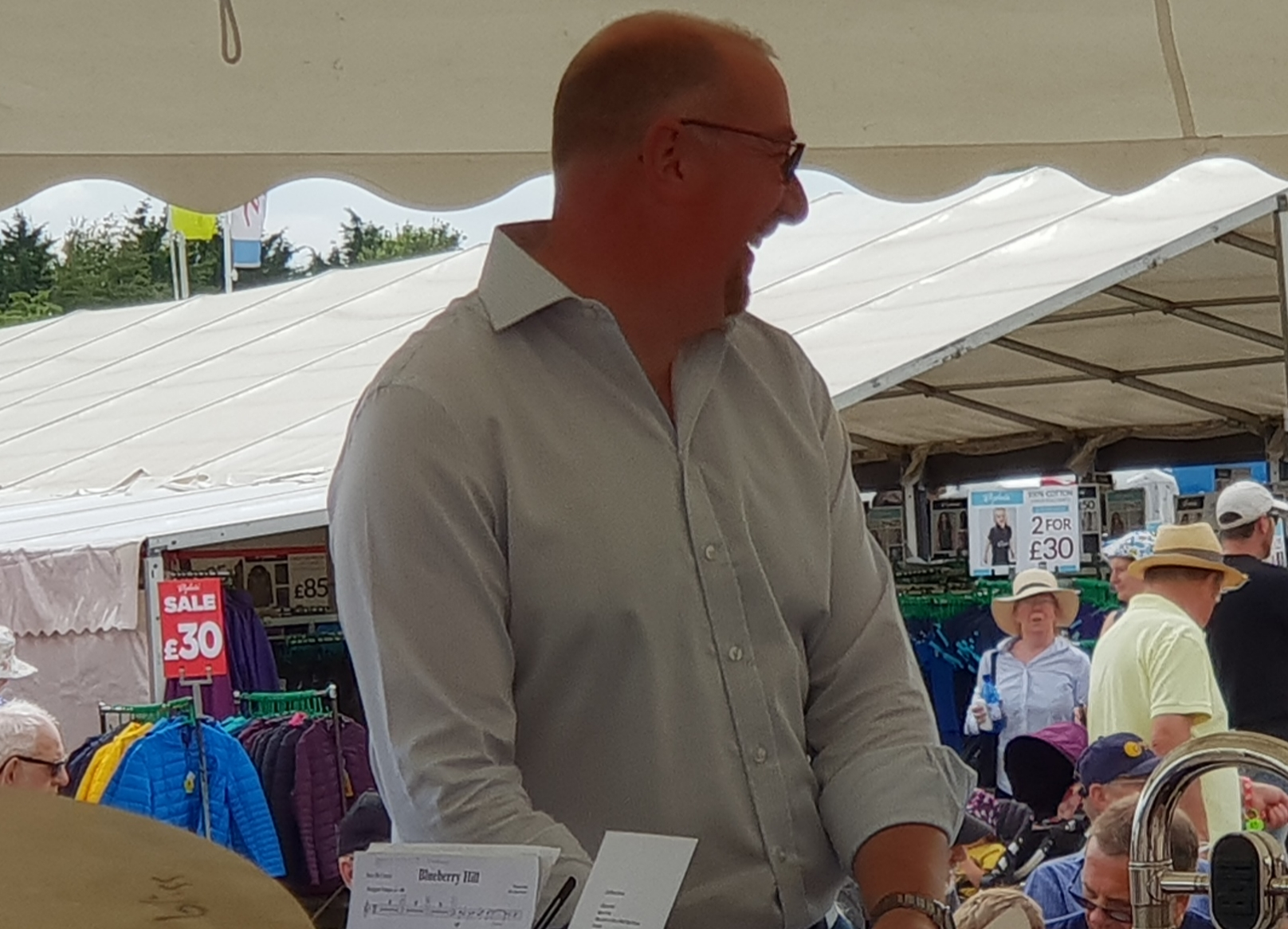 Driffield Show July 2018 MD struggles on hottest day!