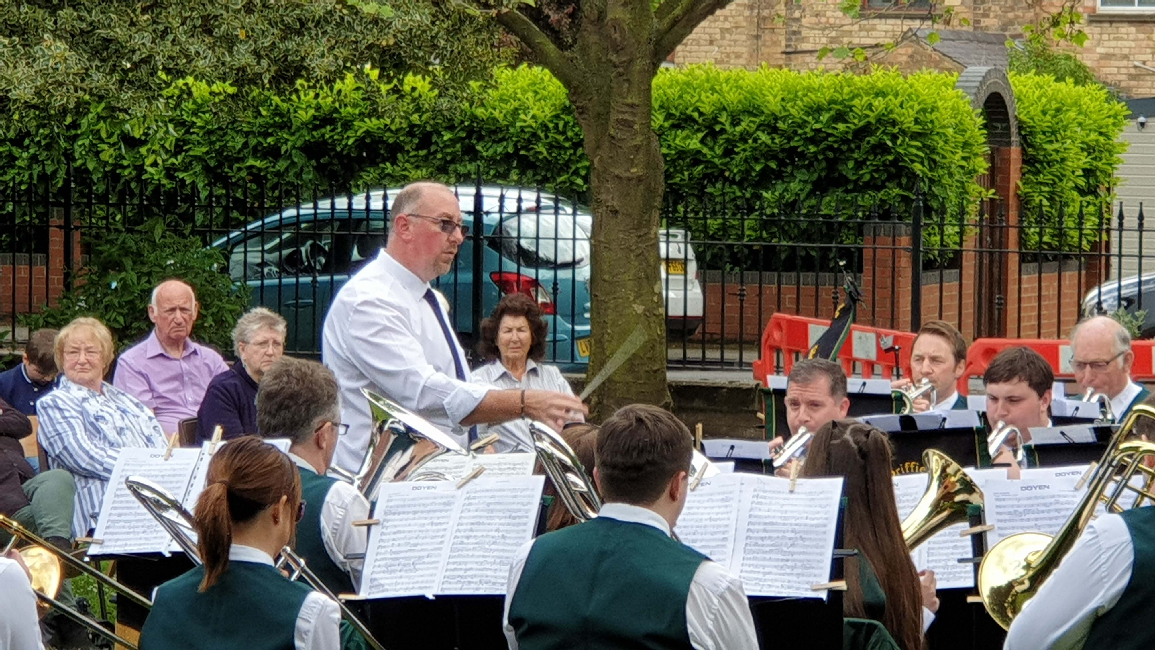 Hornsea-Conductor in action!